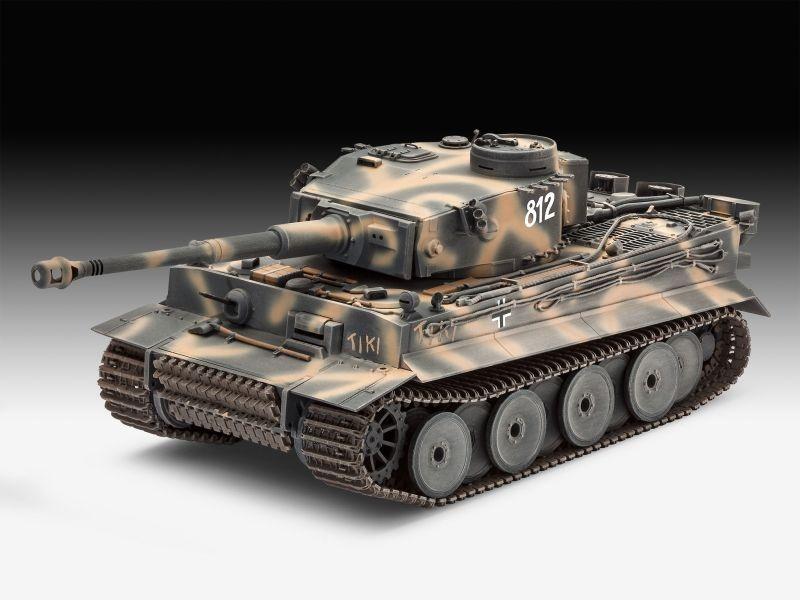 Geschenkset Tiger I Ausführung E, 75th Anniversary 1:35