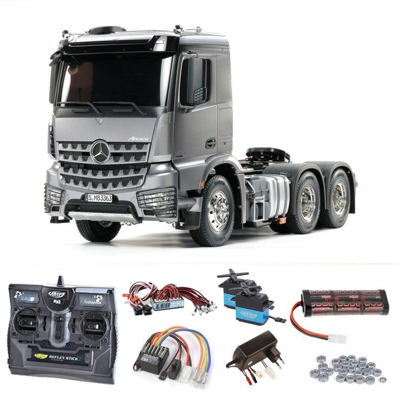 MB Arocs 3363 6x4 Truck Light Gun Metall Set, LED, Lagersatz
