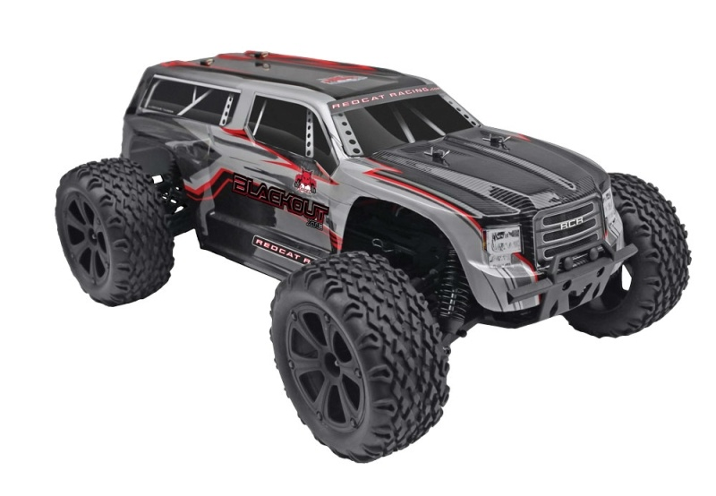 Blackout XTE Elektro 4WD SUV 1:10 Silber RTR 2,4Ghz