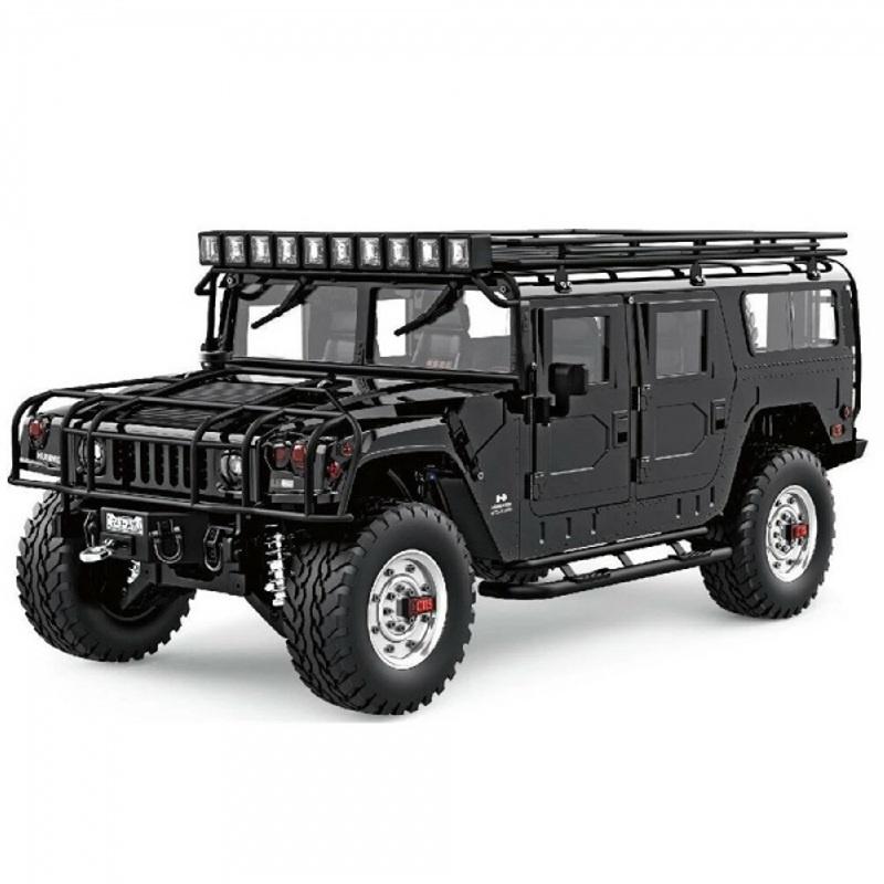Hummer H1 aus Metall 4WD Offroad 1:10 SUV 2,4GHz RTR schwarz