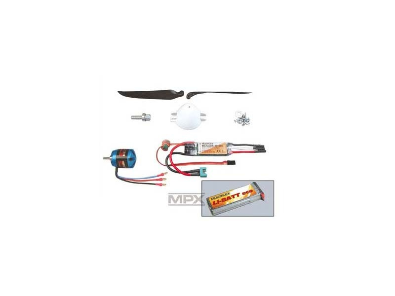 Antriebssatz Easy Glider Pro 3s Tuning LiBATT powered