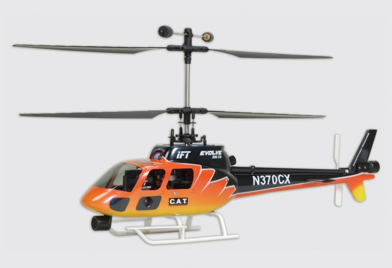 Evolve 300 CX Helikopter Ready-to-Fly (Mode 2)