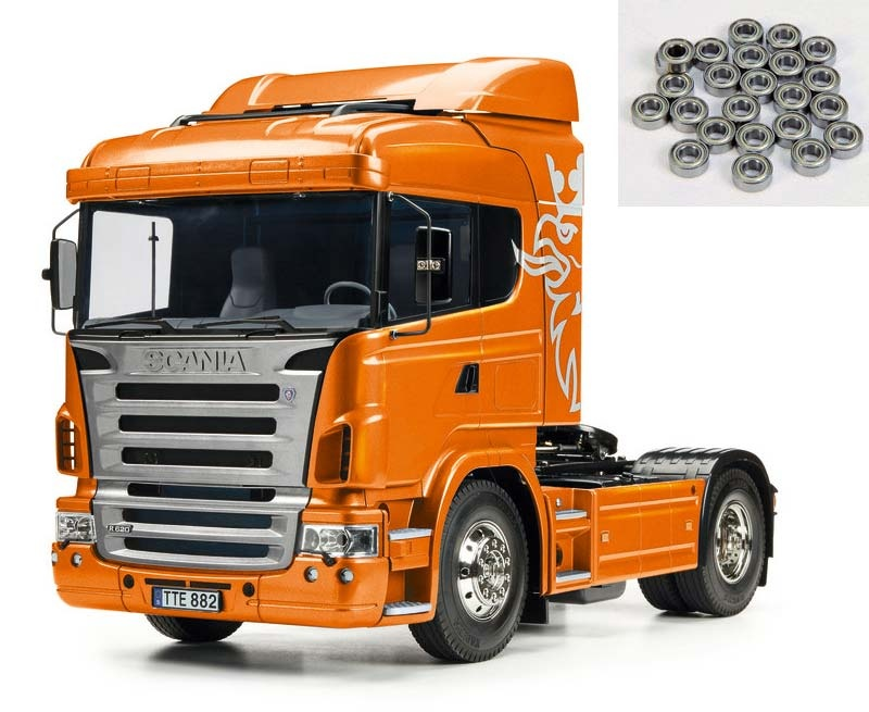 Scania R470 4x2 Orange Edition 1:14 + Kugellager