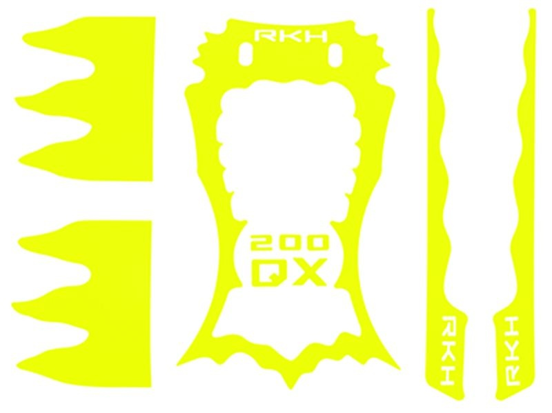 Sticker Skin for CNC Advanced Upgrade Kit (Yellow) 200QX