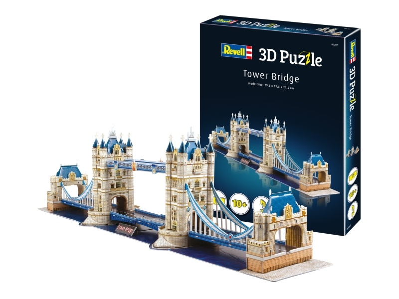 3D Puzzle Tower Bridge 120 Teile