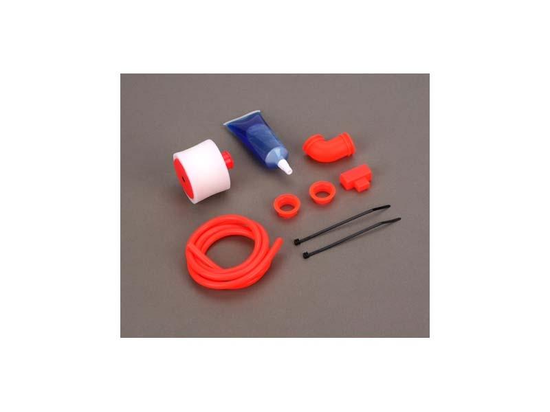 Tuning Luftfilter Set 1:8 Rot für Offroad Buggy