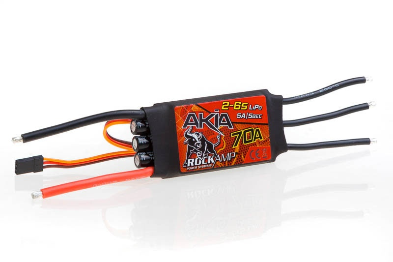 Rockamp Akia 70A / 2-6S Lipo / 5A SBEC