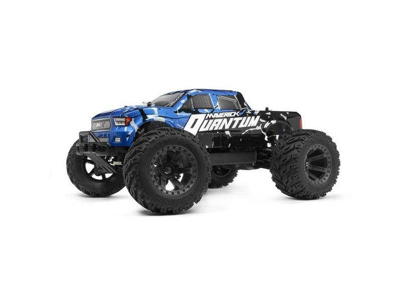 Quantum MT 1/10 4WD Monster Truck RTR mit Akku, Lader - blau