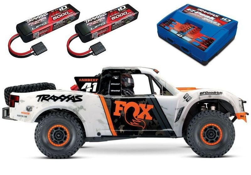 Unlimited Desert Racer Pro-Scale 4x4 Racing Truck Fox