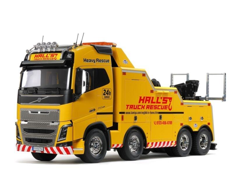 Volvo FH16 Globetrotter 750 8x4 Abschleppwagen 1/14 Truck
