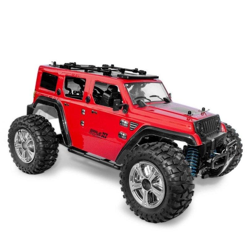 Brave 4x4 Scale Crawler 1:14 4WD mit Licht 2.4GHz RTR rot