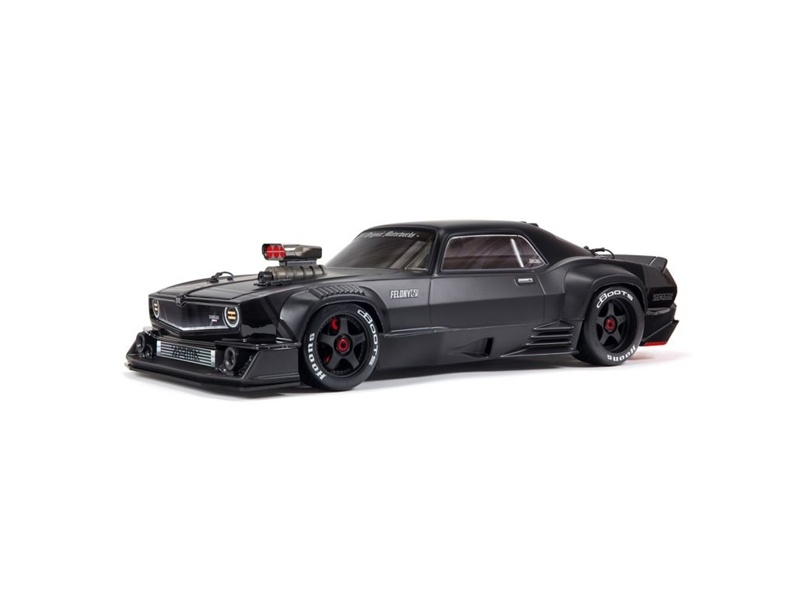 FELONY 6S BLX All-Road Street Bash 1/7 RTR Muscle schwarz