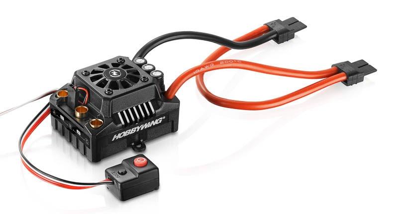 Ezrun Regler MAX8 V3 150A BEC 6A 3-6s WP, TRX-Stecker 1/8
