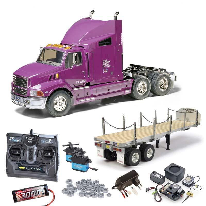 Truck Ford Aeromax komplett + MFC-01, Flachbett, Kugellager