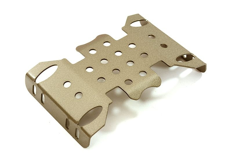 Metall Protection Center Skid Plate für 1/10 Axial SCX10 II