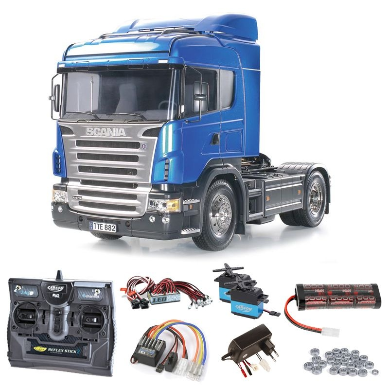 Scania R470 Highline Komplettset + LED, Kugellager