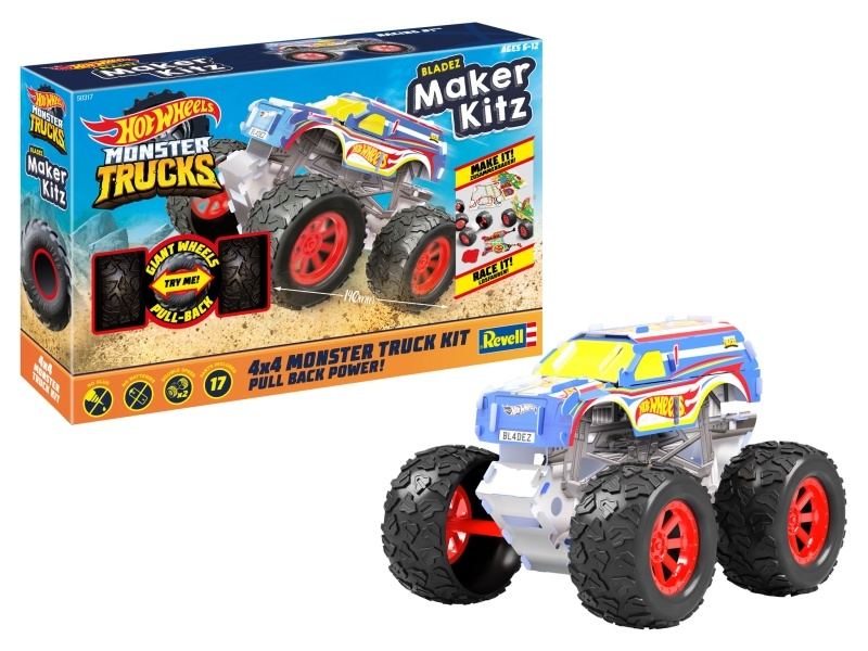 HOT WHEELS Maker Kitz Monster Truck Racing 1
