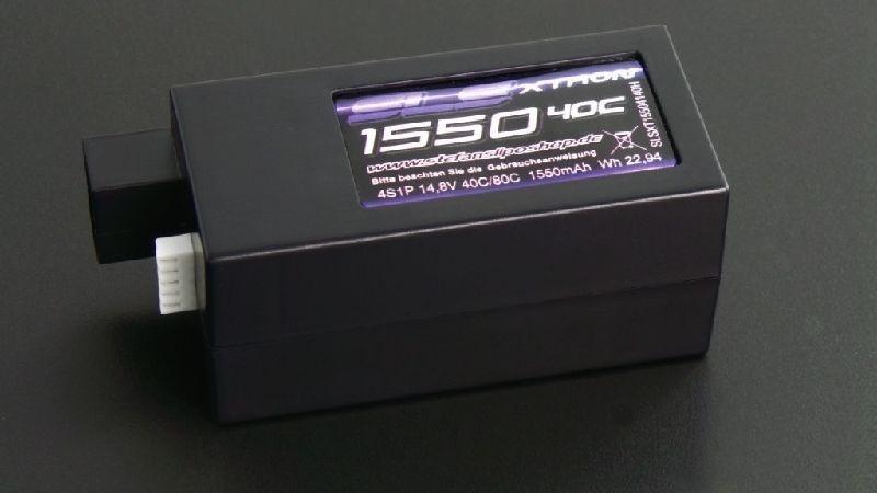 XTRON 1550mAh 4S1P 14,8V 40C/80C Hardcase