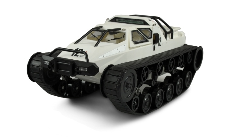 Ketten-Drift-Fahrzeug Military Police 1:12 weiß RTR