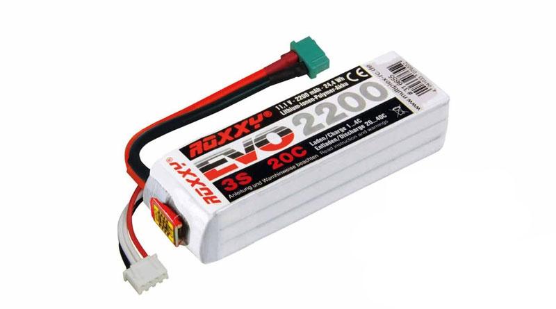EVO LiPo Akku 3S 11,1V 2200mAh 20C mit BID-Chip