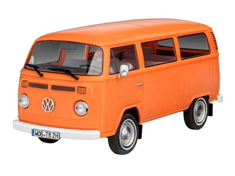 VW T2 Bus Plastikbausatz 1:24