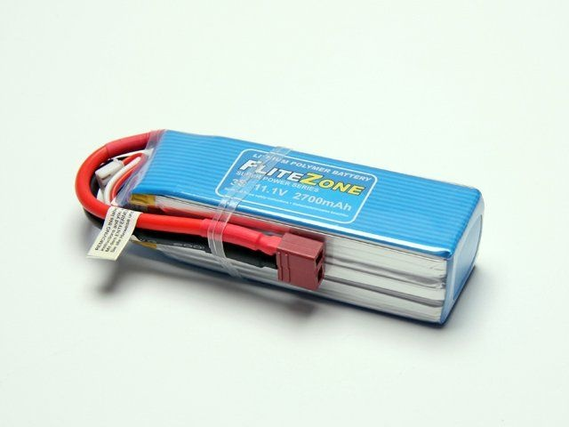 LiPo Akku FliteZone 2700mAh - 11,1V + Deans-T