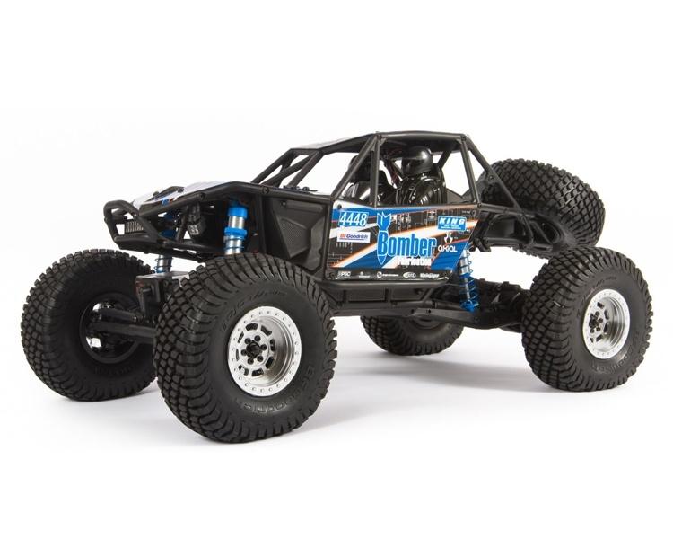 RR10 Bomber 2.0 1:10 4WD RTR Rock Racer blau