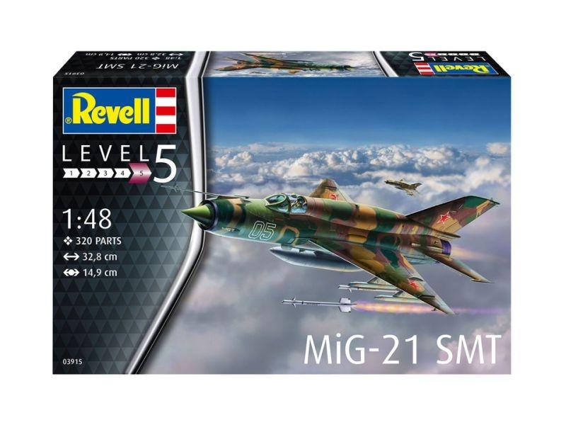 MiG-21 SMT Kampfflugzeug Bausatz 1:48