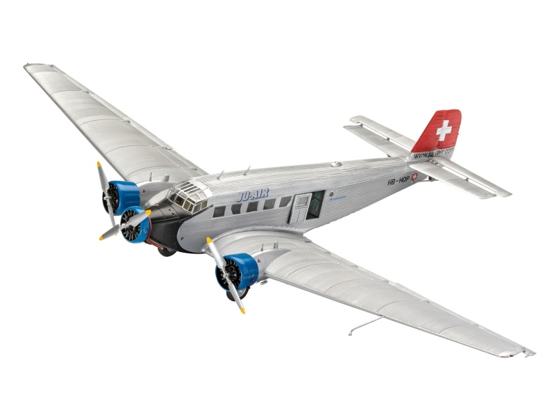 Junkers Ju52/3m Civil Plastikbaukasten 1:72