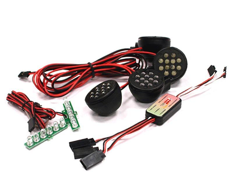 LED Licht Set für vorn und hinten mit Controller für Baja 5B