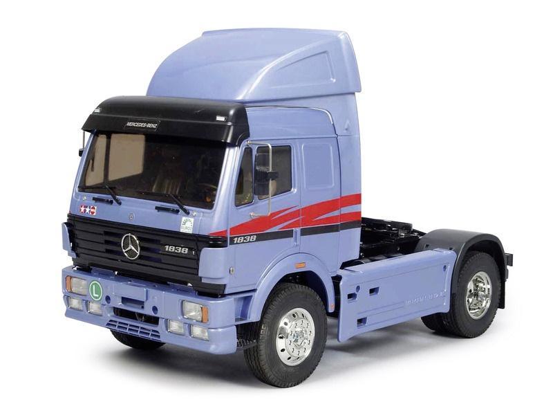 Mercedes Benz Truck 1838 LS RC Bausatz 1:14