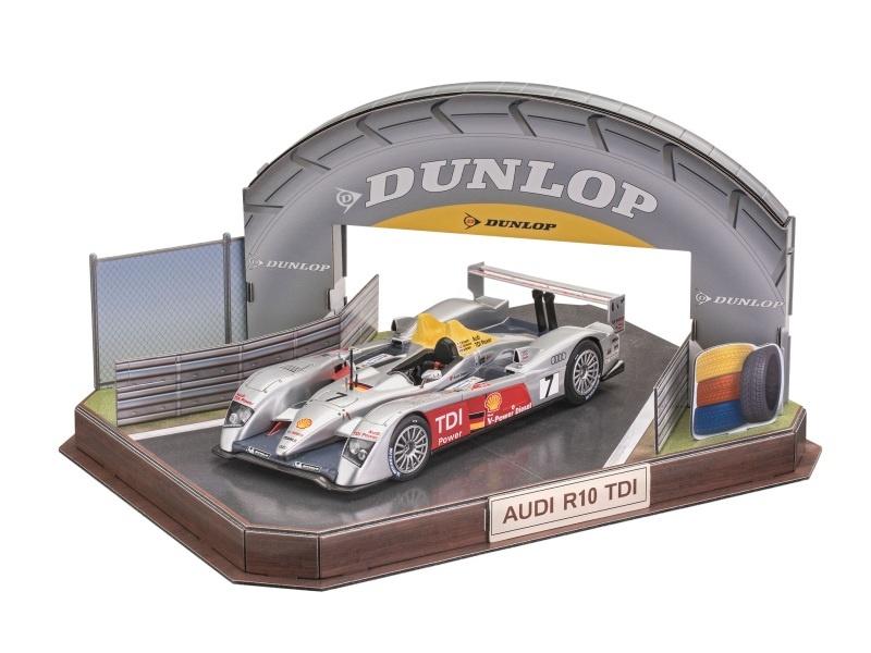 Geschenkset Audi R10 TDI LeMans 1:24 + 3D Puzzle