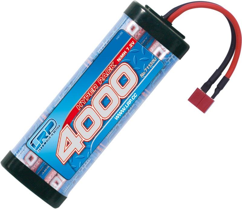 Hyper Pack 4000 - 7.2V - 6-Zellen - US-style Stecker NiMh