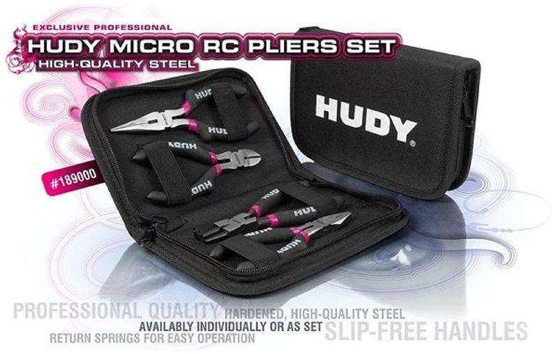 Modellbau Micro Zangen Set inkl. Tasche
