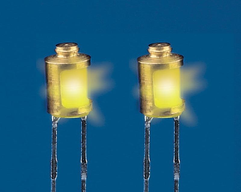 Schiffslampen modern 4 mm mit LED (2 Stück)