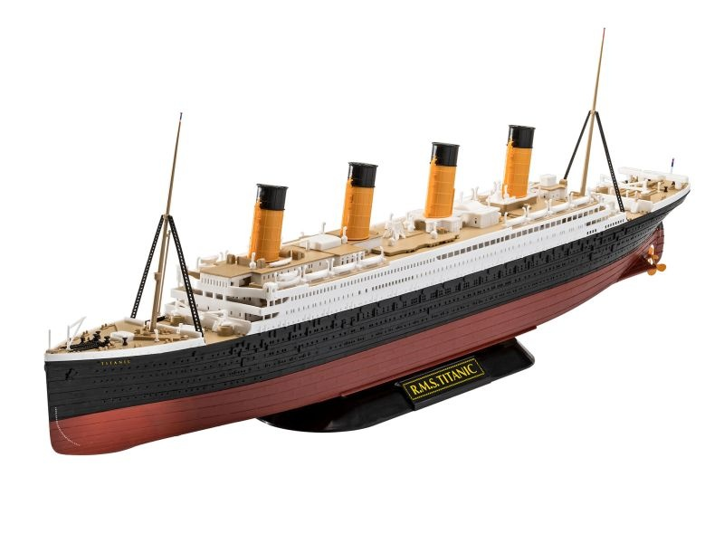 RMS Titanic 1:600 Easy-Click-System