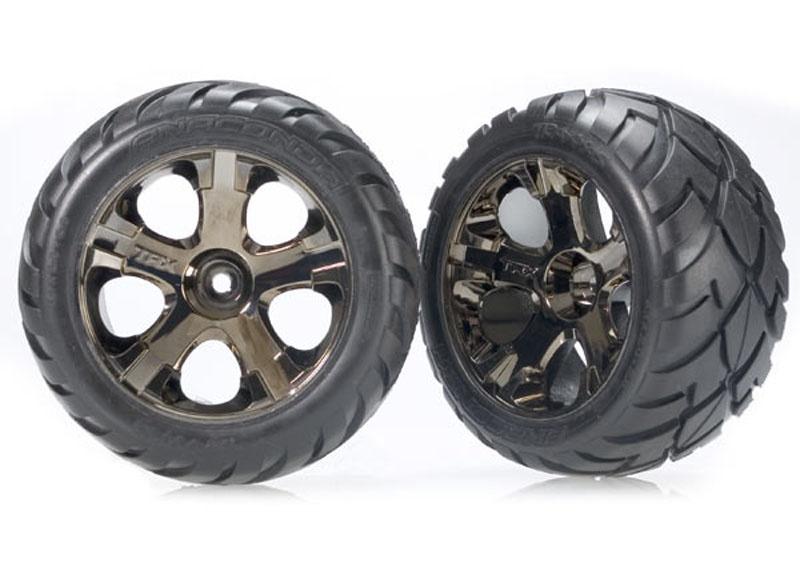 Reifen auf Felge mit 12mm Sechskant
