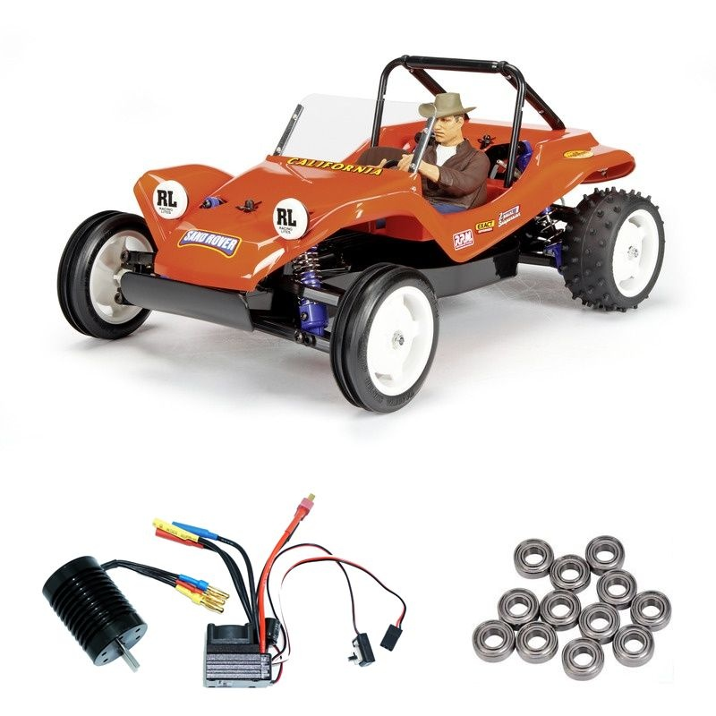 Sand Rover 2011 1:10 2WD DT-02 Brushless-Edition + Lager