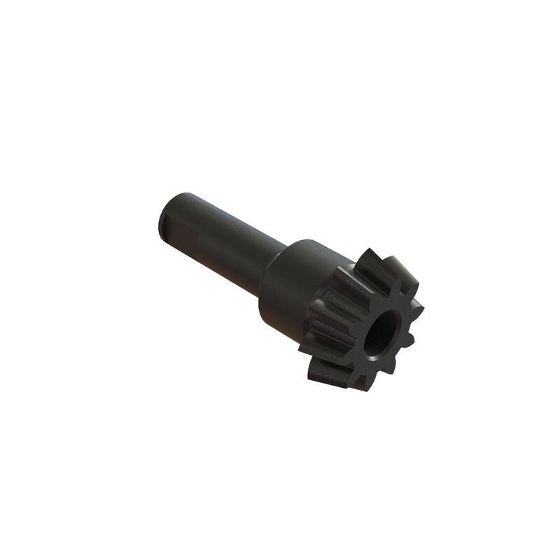 Haupteingangsgetriebe 10Z spiralverzahnt Stahl