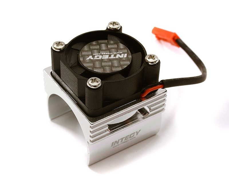 Kühlkörper mit Lüfter für Brushless Motor E-Revo 1/16