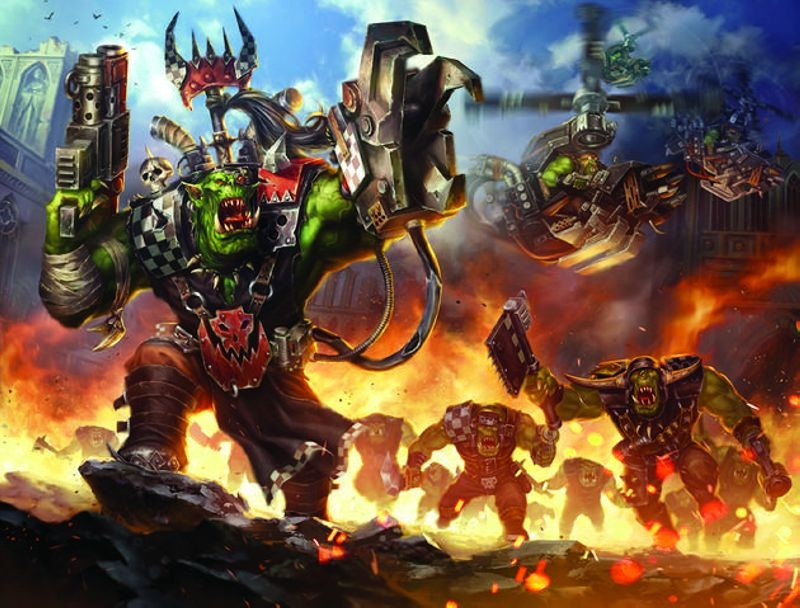 Space Ork Raiders