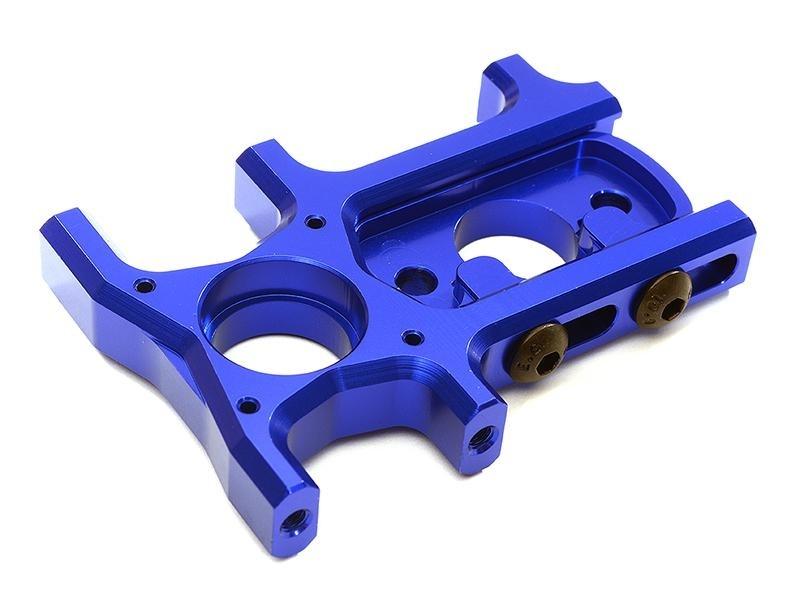 CNC Aluminium Motorhalterung blau für ARRMA Kraton 6S BLX