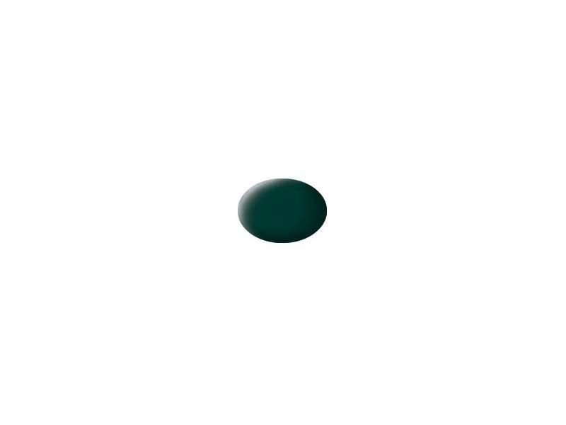 Aqua Color schwarzgrün, matt 18ml