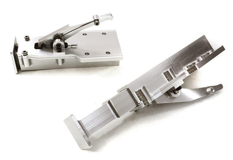 Aluminium Stützen für Auflieger 1:14, silber