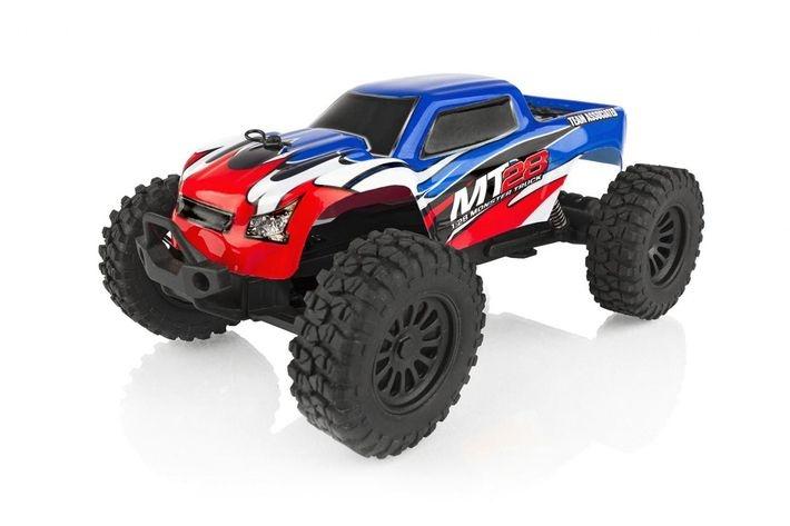 MT28 Monster Truck 2WD Elektro 1:28 Ready-to-Run 2,4GHz