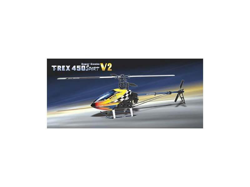 T-REX 450 SPORT V2 Super Combo