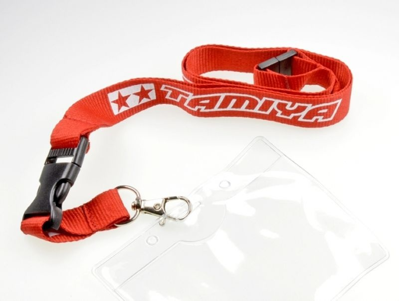 Schlüsselband TAMIYA rot
