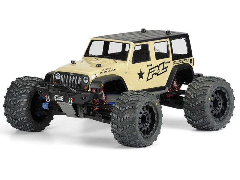 ProLine Jeep Wrangler Unlimited Rubicon TRX T/E-MAXX 3.3