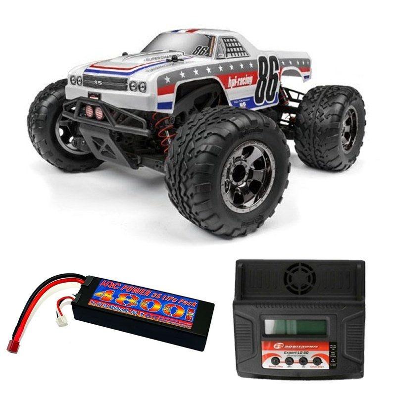 Savage XS Flux 4WD Monster Truck El Camino RTR Komplett-Set