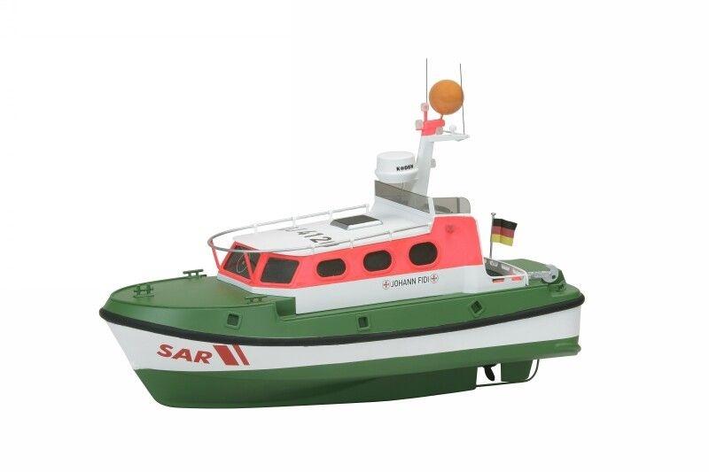 Seenotrettungsboot Johann Fidi, 1:20, Bausatz
